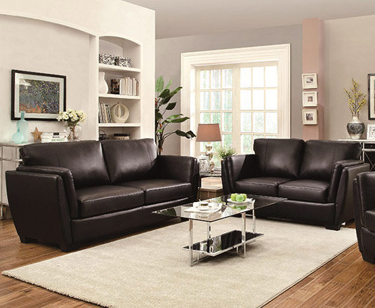 Leather Sectional Seat